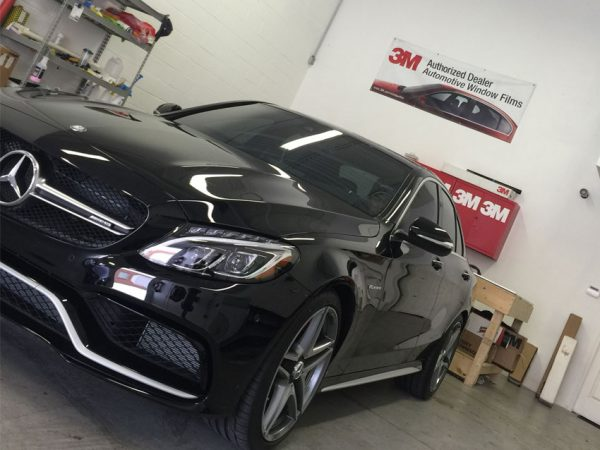 Brand-New-Mercedes-C63S-Came-Straight-To-EliteTint-For-Tints-and-Paint-Protection-Film