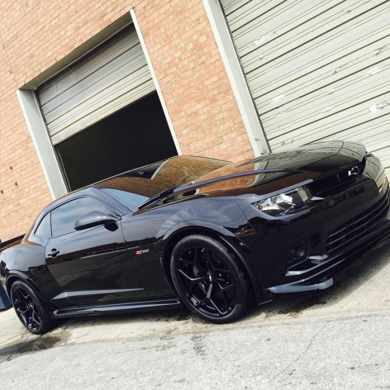 Camaro-Z28-Complete-Front-End-Wrapped-With-Paint-Protection-Film