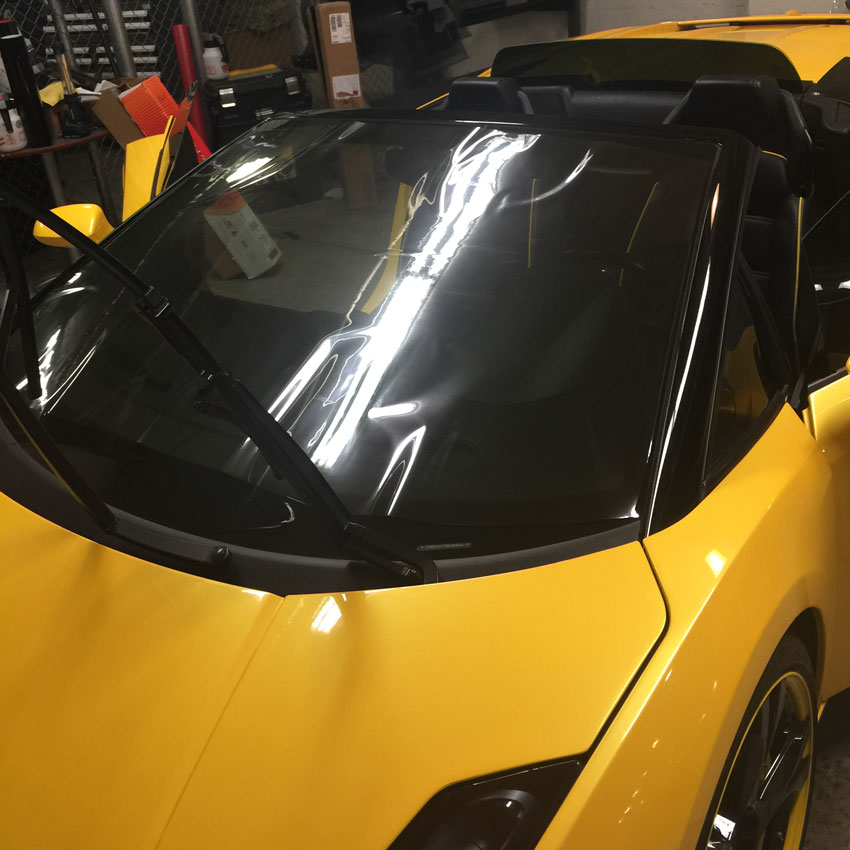 windshield skin protection film