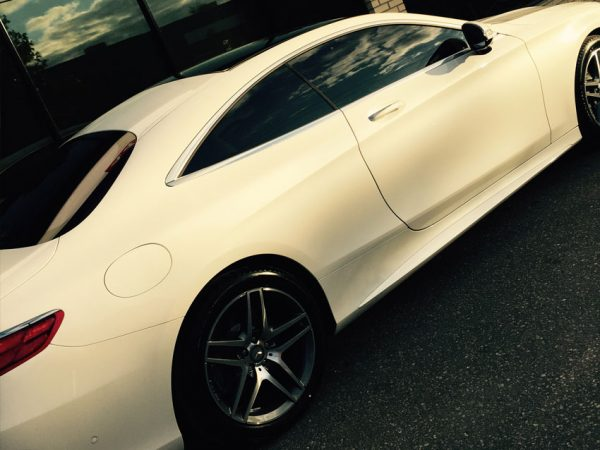 Office-and-Mercedes-S-Coupe-Tinted-With-Reflective-Film