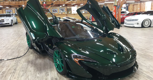 MCLAREN-P1 window tinting
