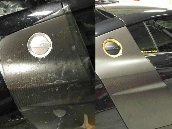 bugatti grey custom wrap