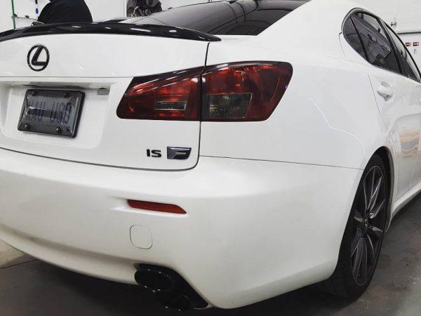 rear lights tinitng
