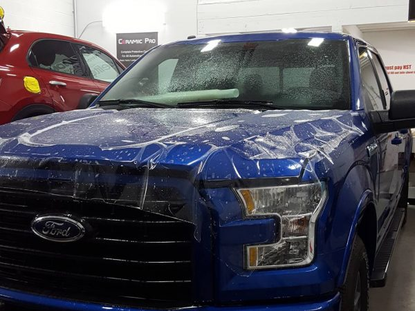 stone chip protection film